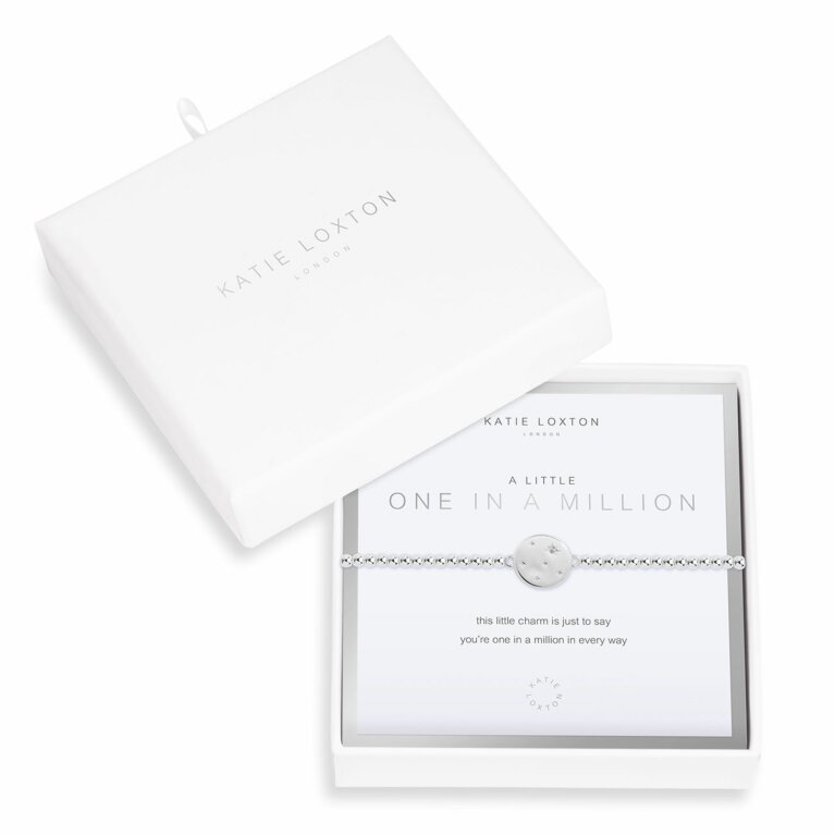 Beautifully Boxed a little One In A Million Bracelet