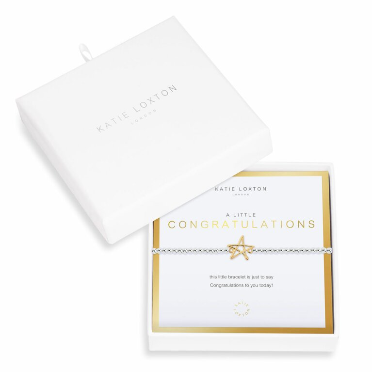 Beautifully Boxed a little Congratulations Bracelet