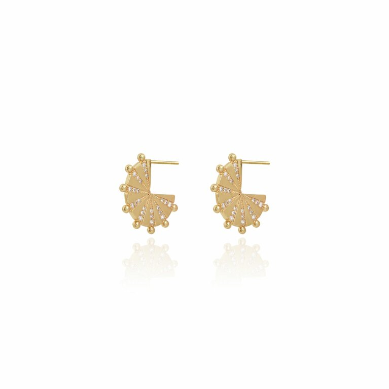Mayan Solid Hoop Earrings