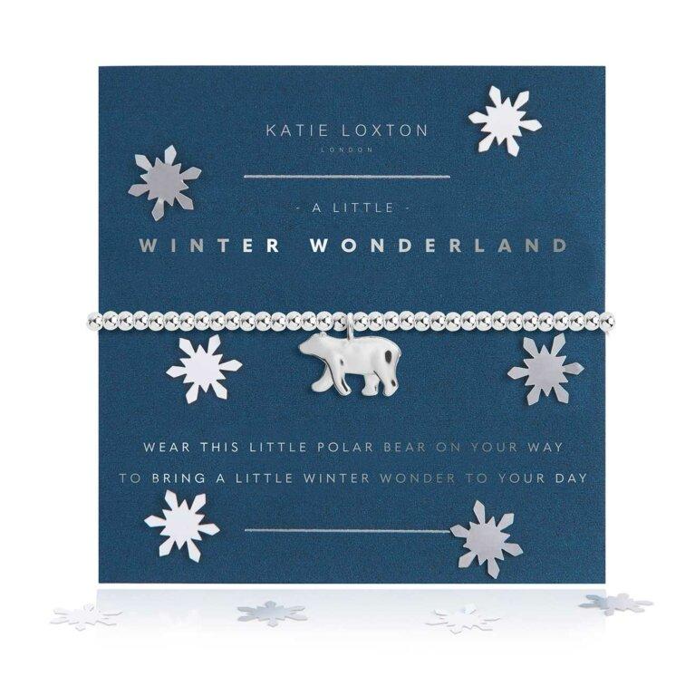 a little Winter Wonderland Bracelet | Snow Globe
