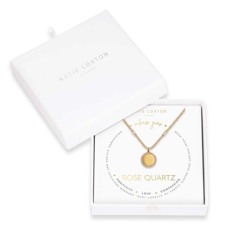 Wellness Gems | Rose Quartz Necklace