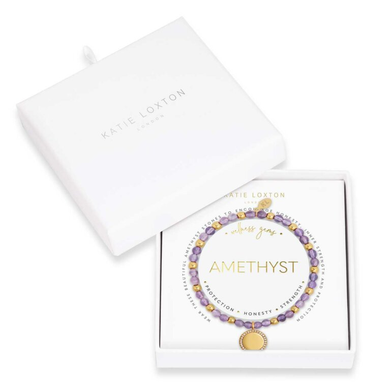 Wellness Gems | Amethyst Bracelet
