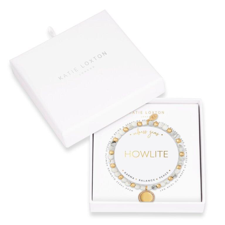 Wellness Gems Howlite Bracelet