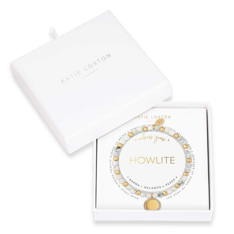 Wellness Gems | Howlite Bracelet
