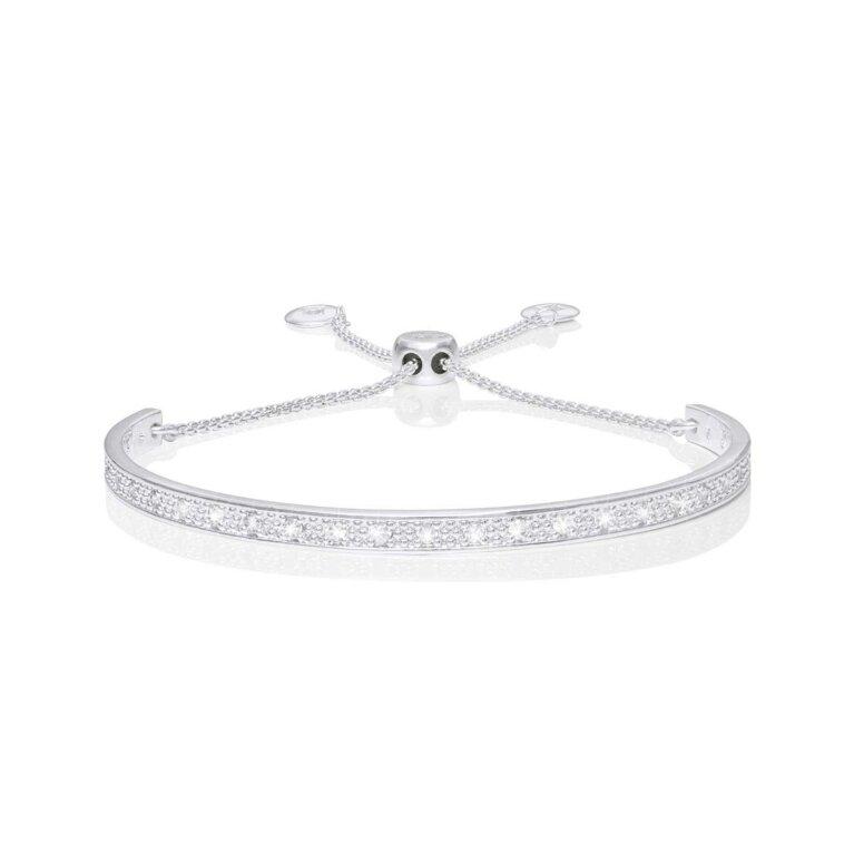 Bracelet Bar | Pave Bangle