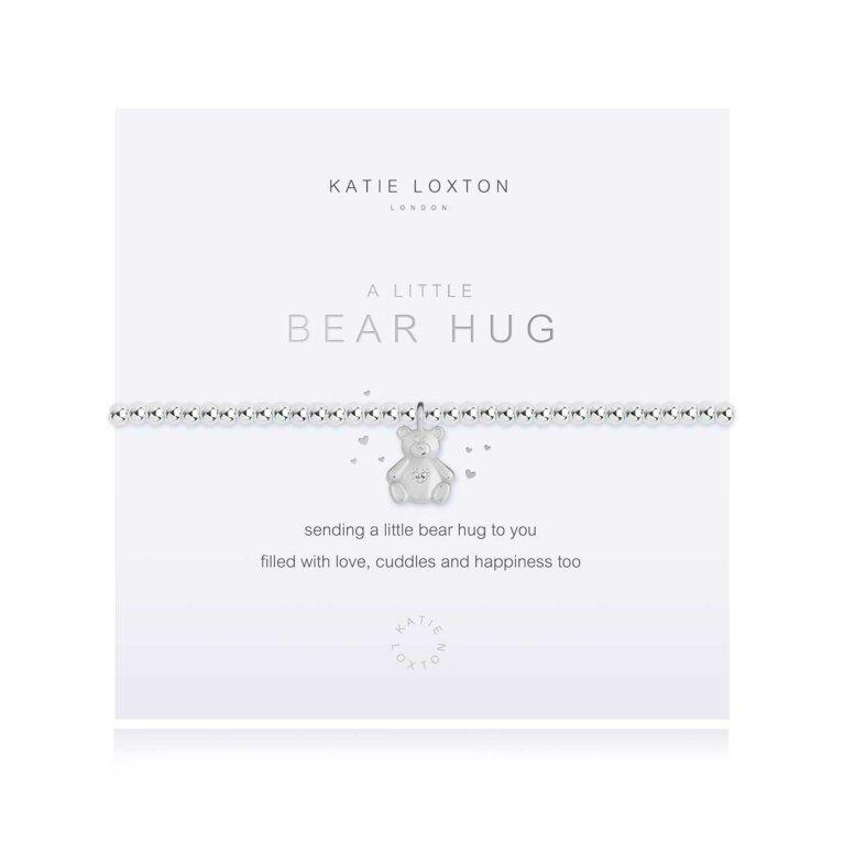 a little Bear Hug Bracelet