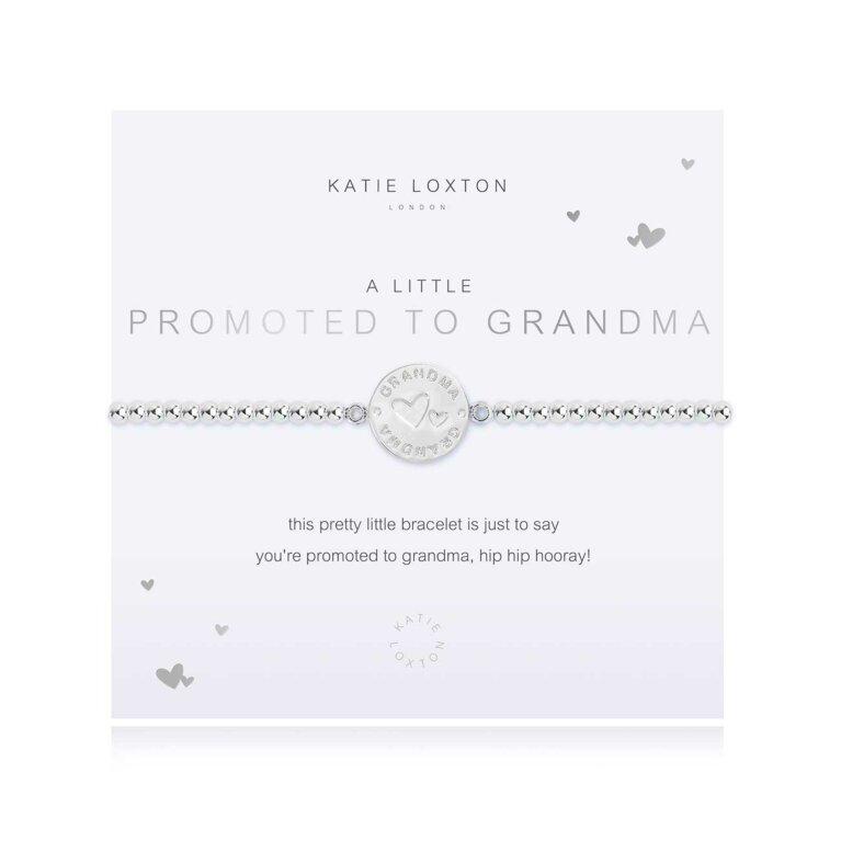a little Promoted To Grandma Bracelet