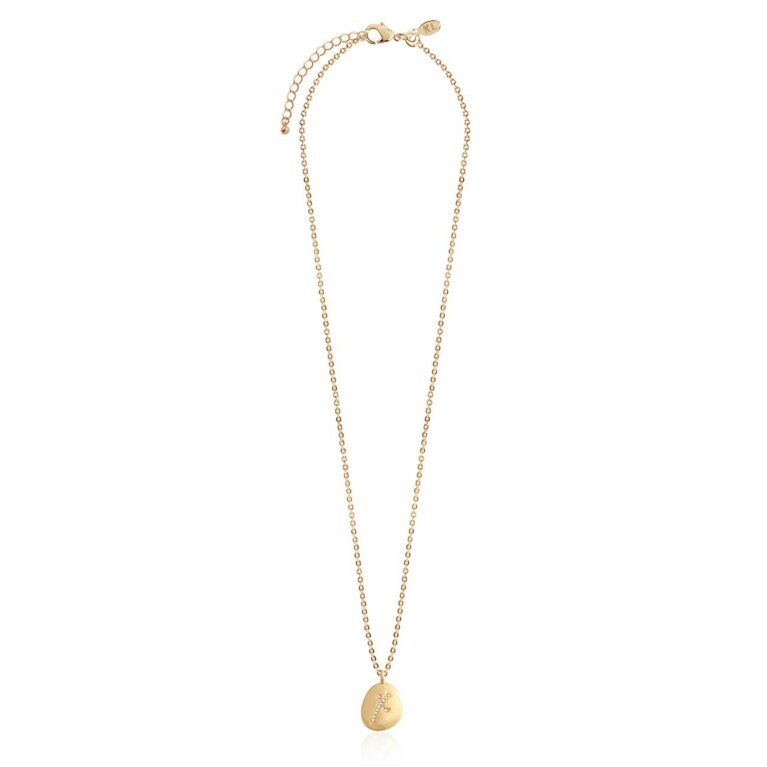 Amore Pave Kiss Necklace