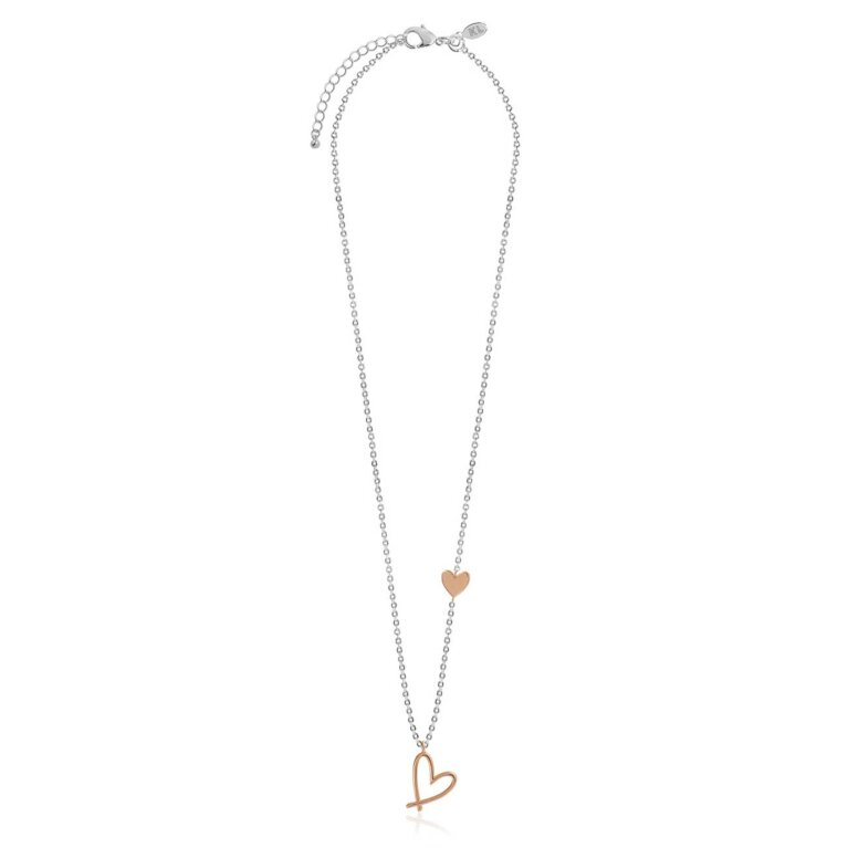 Florrie Heart Necklace