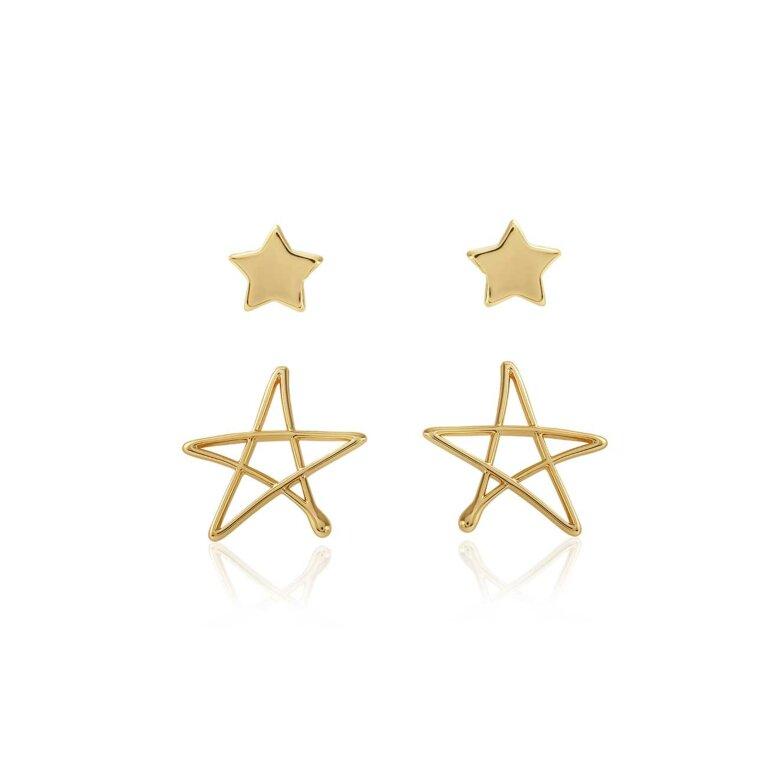 Florrie Star Stud Earrings
