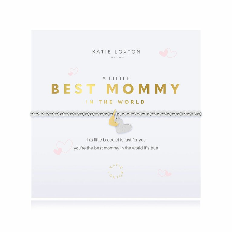 a little Best Mommy In The World Bracelet