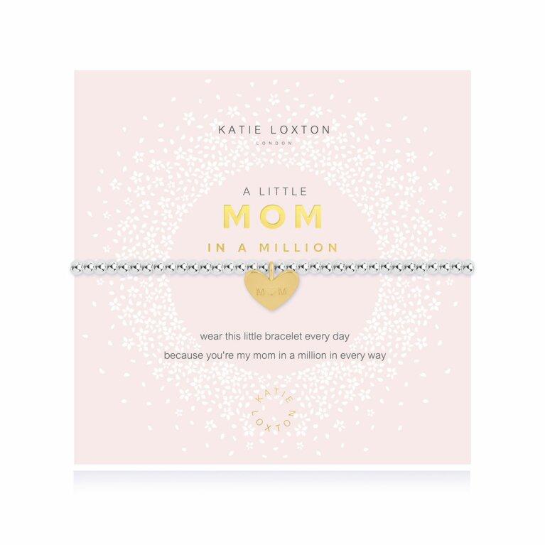 a little Mom In A Million Bracelet