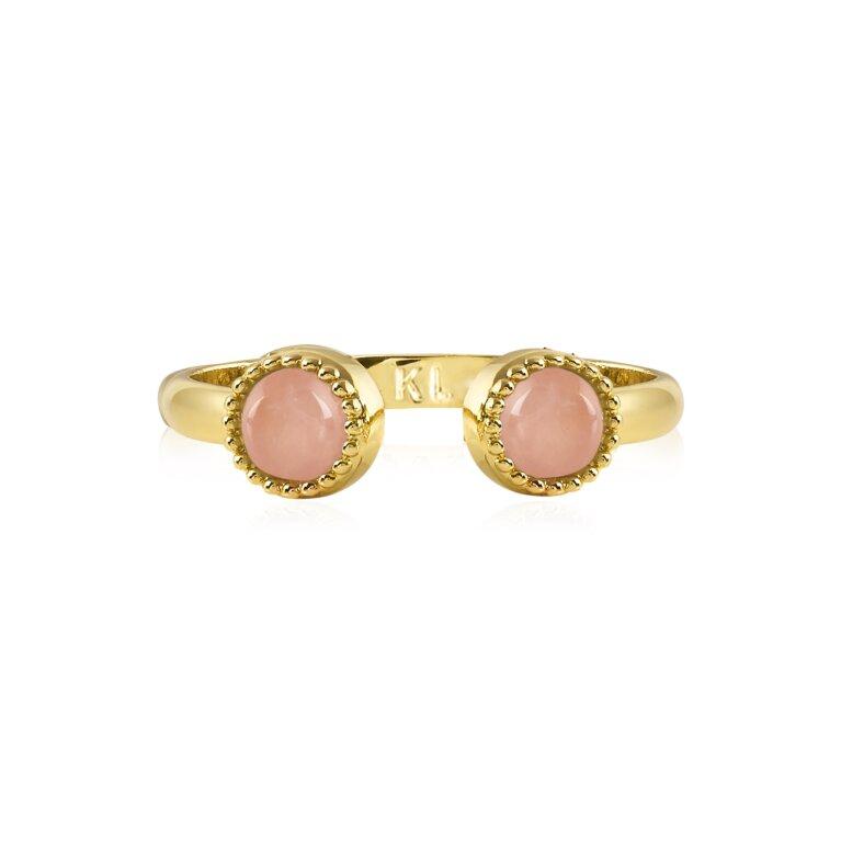 Capri | Rose Quartz Ring