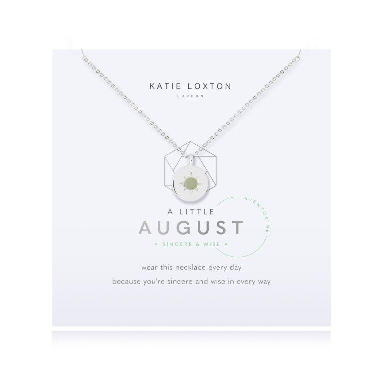 Birthstone a little Necklace August Aventurine