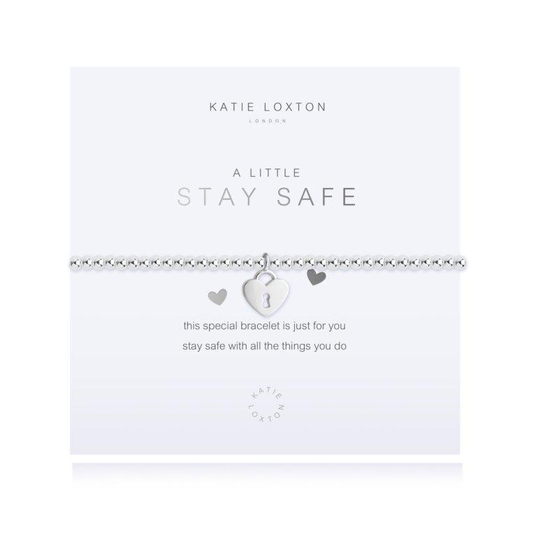 a little Stay Safe Bracelet