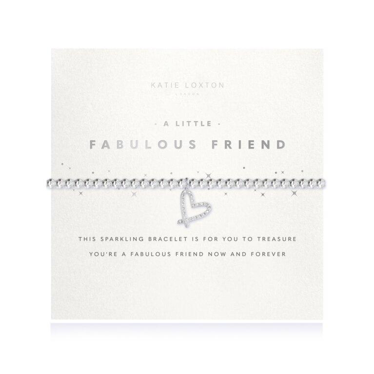 a little Fabulous Friend Faceted Bracelet