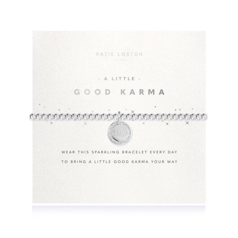 a little Good Karma Faceted Bracelet