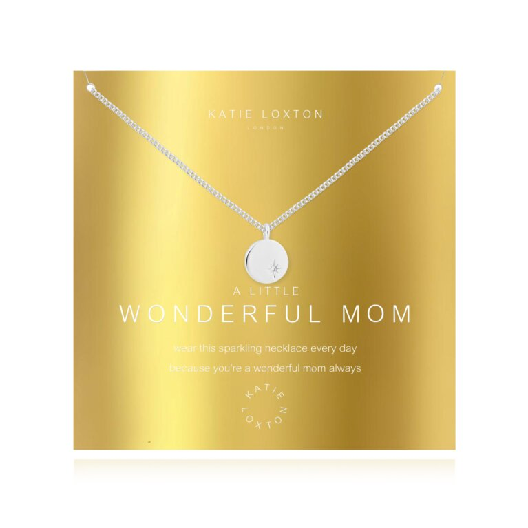 a little Wonderful Mom Necklace