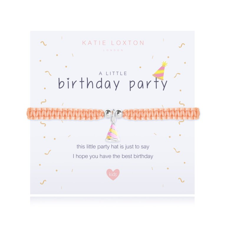 A Little Birthday Party Bracelet