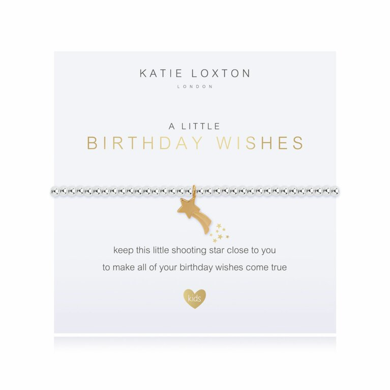 a little Birthday Wish Bracelet