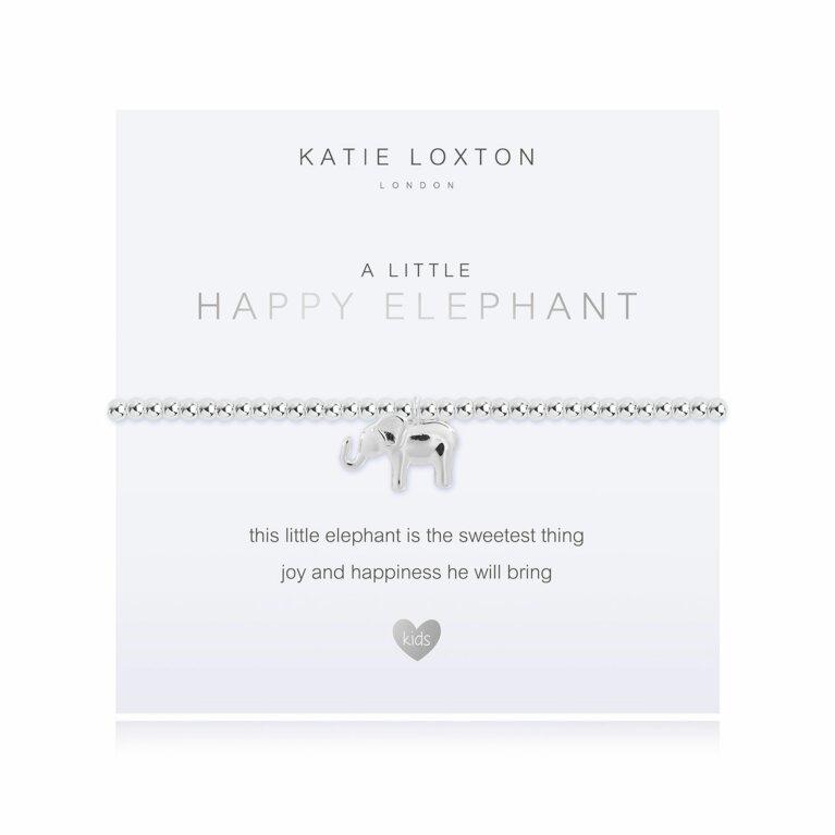 a little Happy Elephant Bracelet