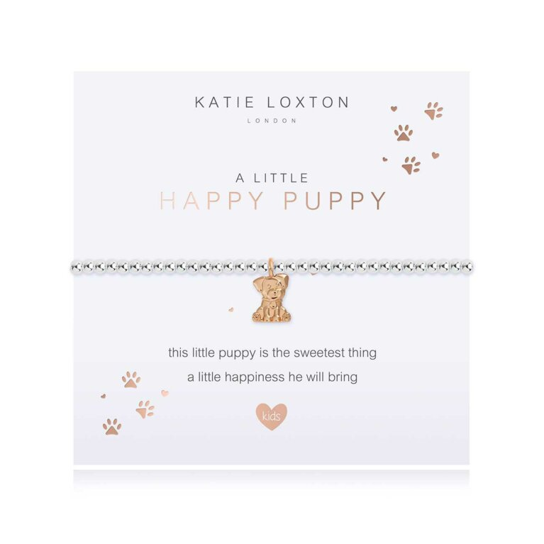 Children's a little Happy Puppy Bracelet