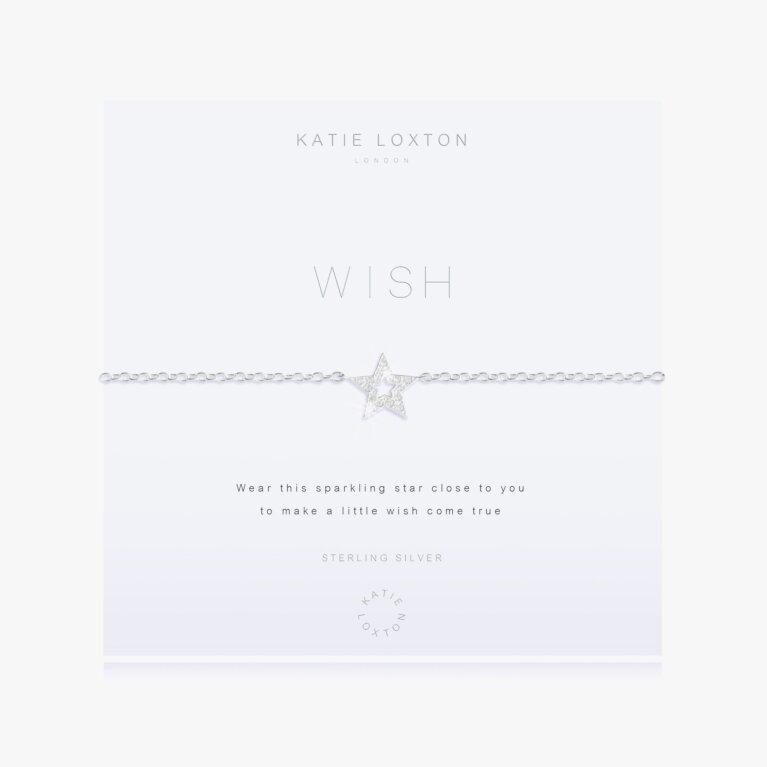 Wish Bracelet In Sterling Silver
