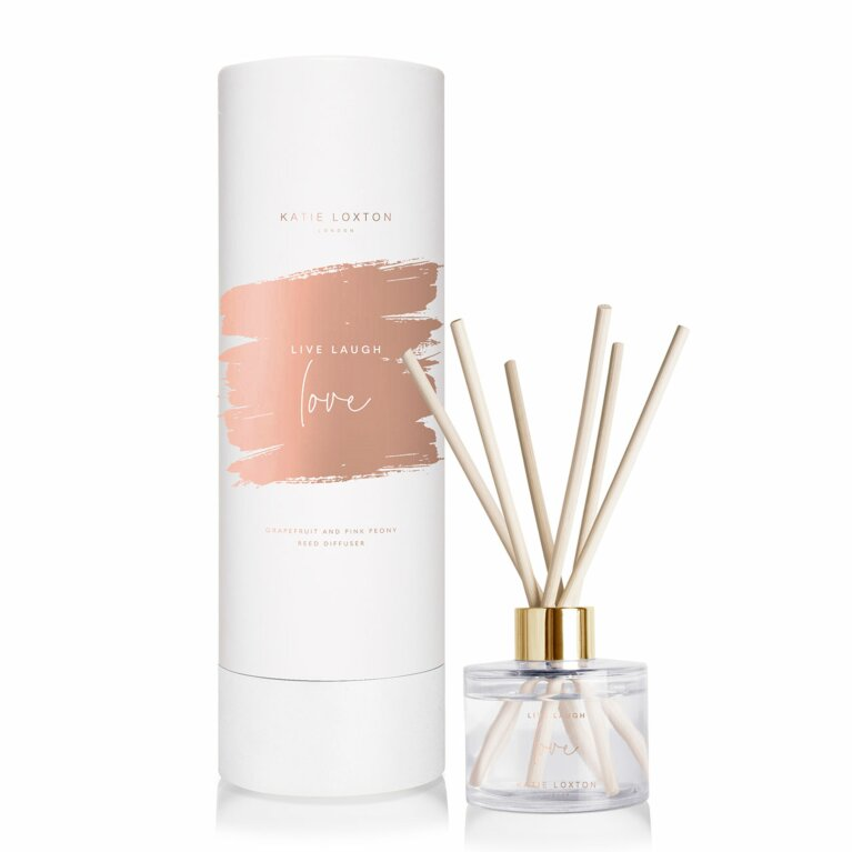 Sentiment Reed Diffuser | Live Laugh Love Diffuser