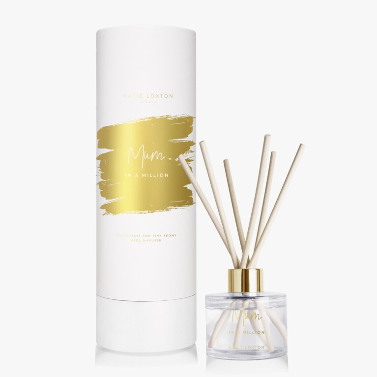 Sentiment Reed Diffuser | Mum In A Million | Grapefruit & Pink Peony | 100ml