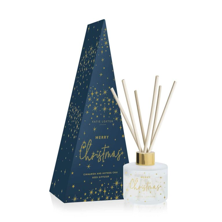Festive Reed Diffuser | Merry Christmas | Cinnamon and Nutmeg Chai