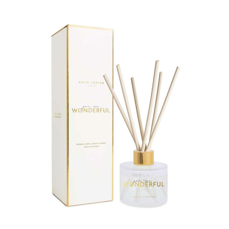Festive Reed Diffuser | You Are Wonderful | Pomelo and Lychee Flower