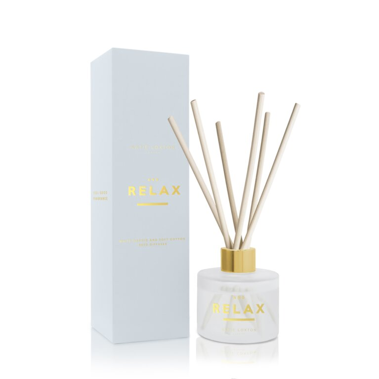 Sentiment Reed Diffuser And Relax White Orchid And Soft Cotton