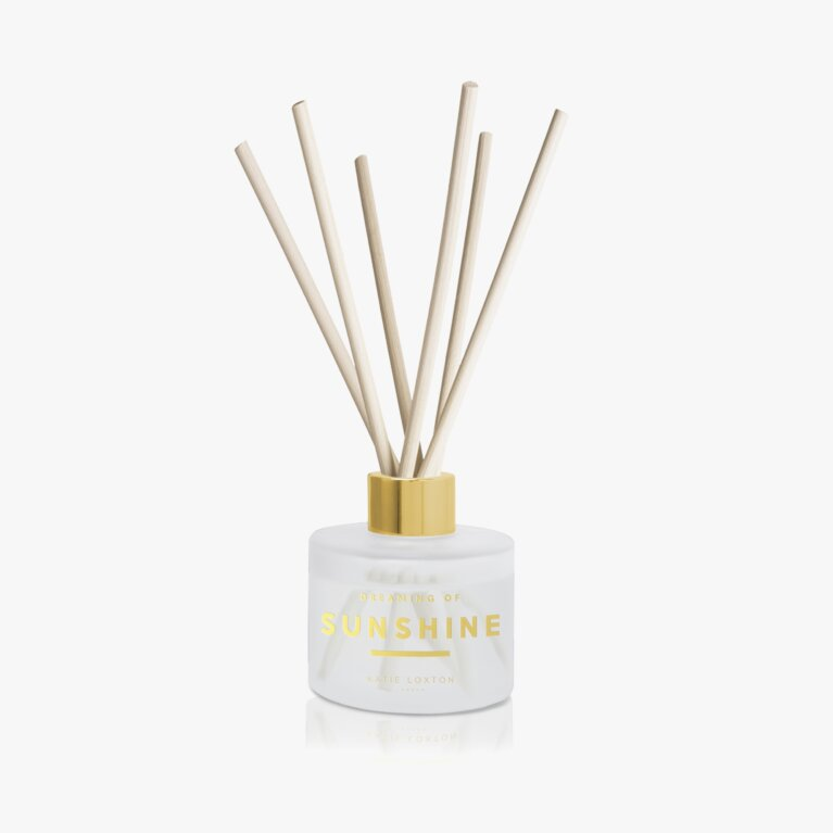 Sentiment Reed Diffuser | Dreaming of Sunshine | Pomelo and Lychee Flower |