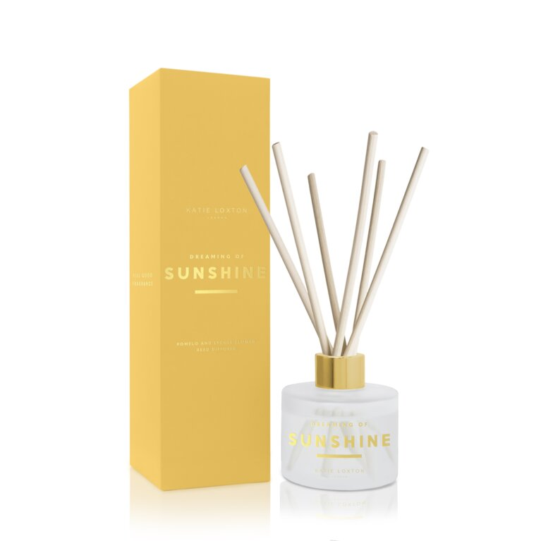 Sentiment Reed Diffuser Dreaming Of Sunshine Pomelo And Lychee Flower