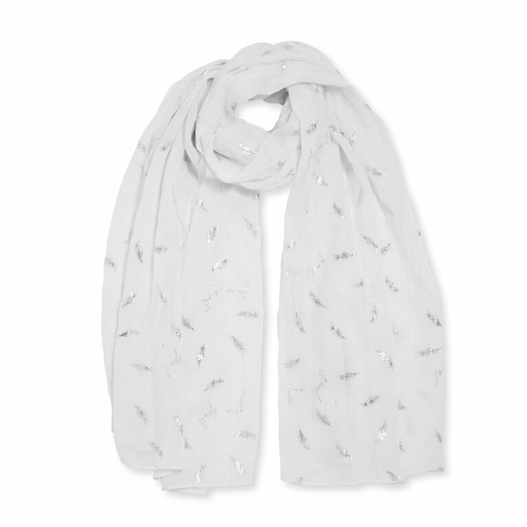 Metallic Sentiment Scarf | Free Spirit