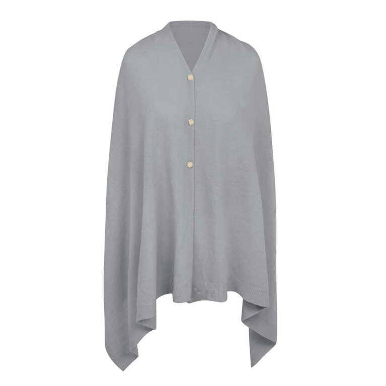 Eve Multi Way Poncho | Grey