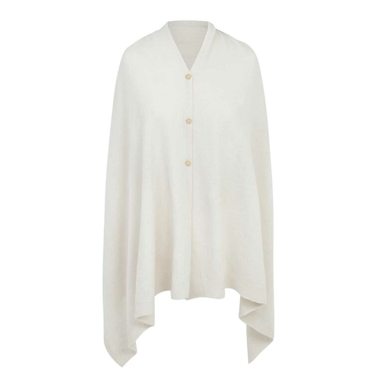 Eve Multi Way Poncho | Cream
