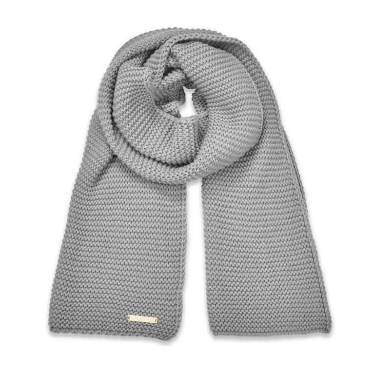 Chunky Knit Scarf | Grey