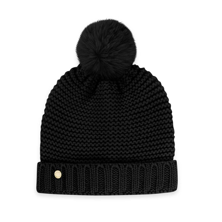 Chunky Knit Hat | Black