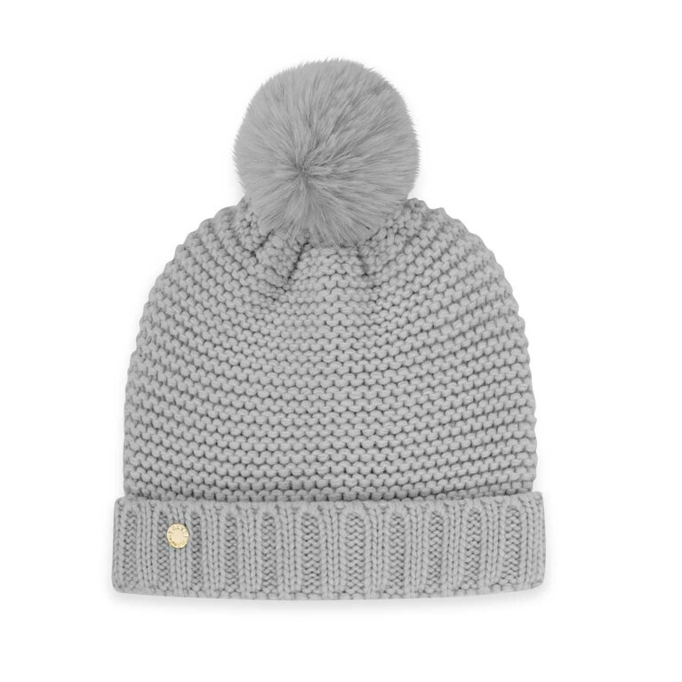Chunky Knit Hat | Gray
