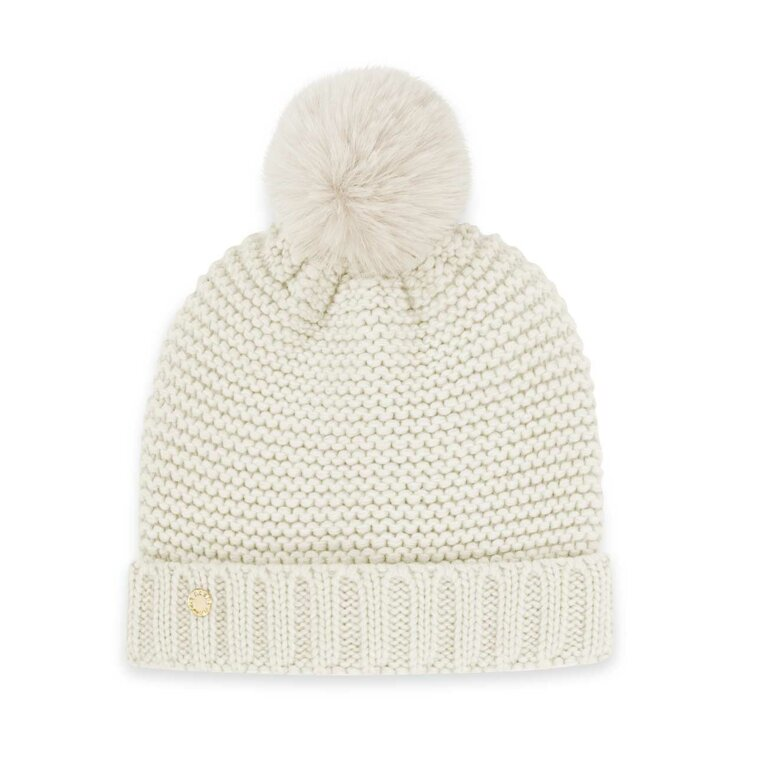 Chunky Knit Hat | Cream