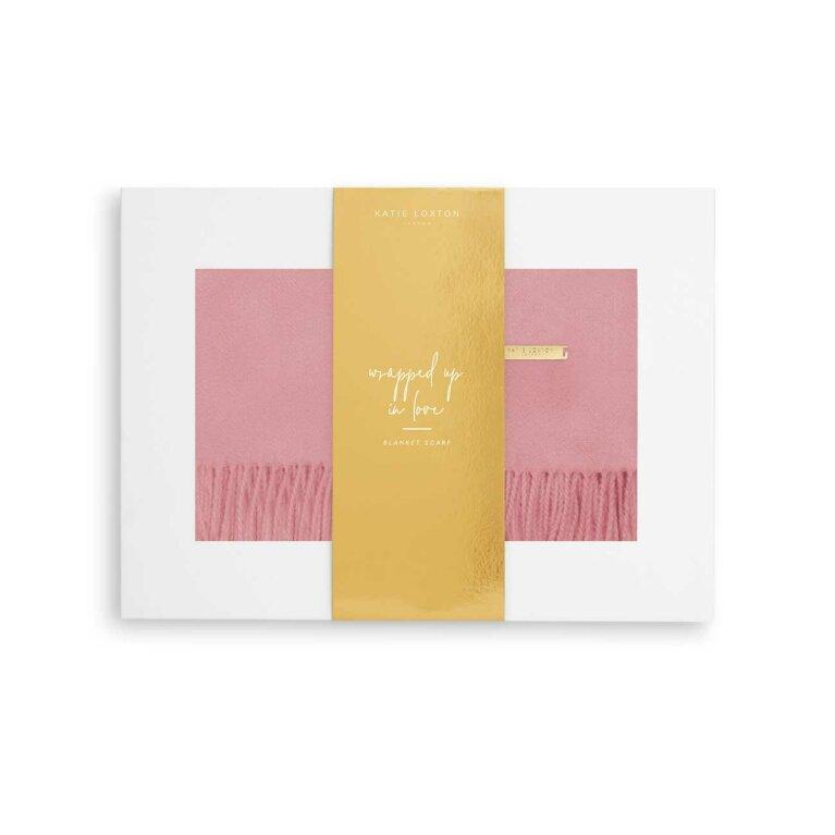 Thick Plain Scarf | Foxglove Pink