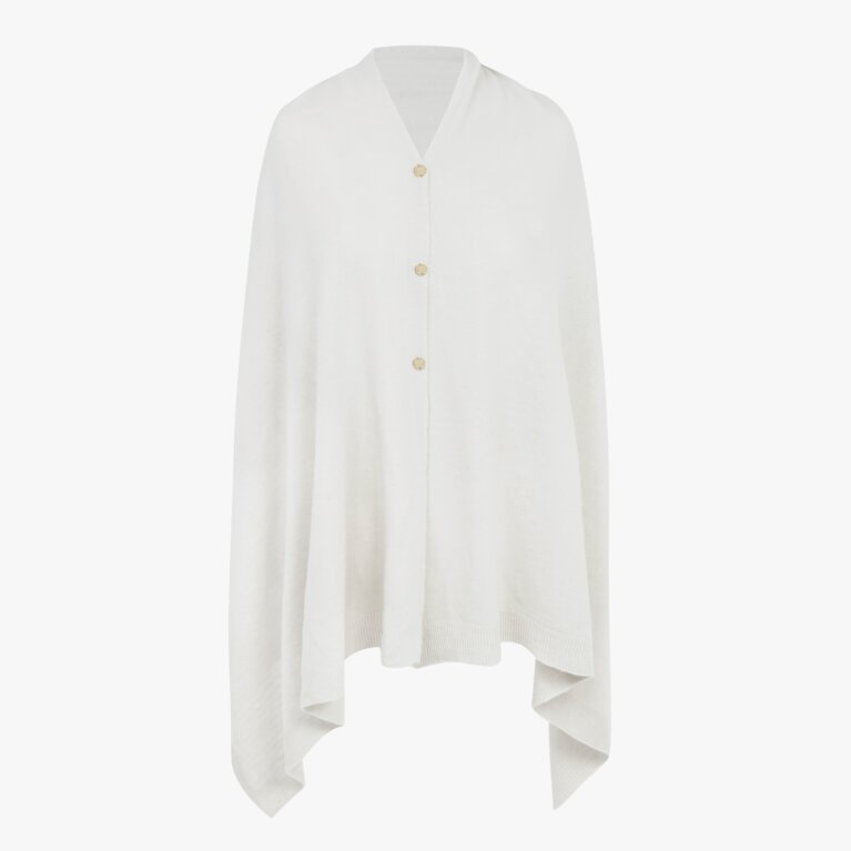 Eve Multiway Poncho | White