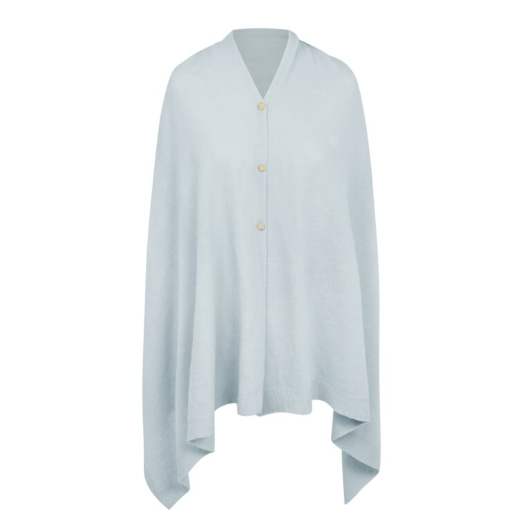 Eve Multiway Poncho In Blue