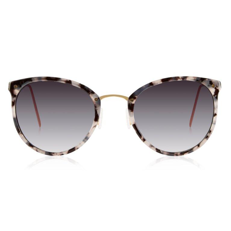 Santorini Sunglasses in Gray Tortoiseshell