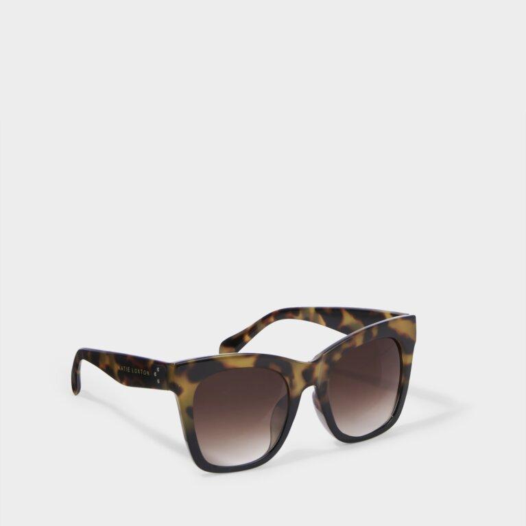 Mykonos Sunglasses Gradient Tortoiseshell in Brown