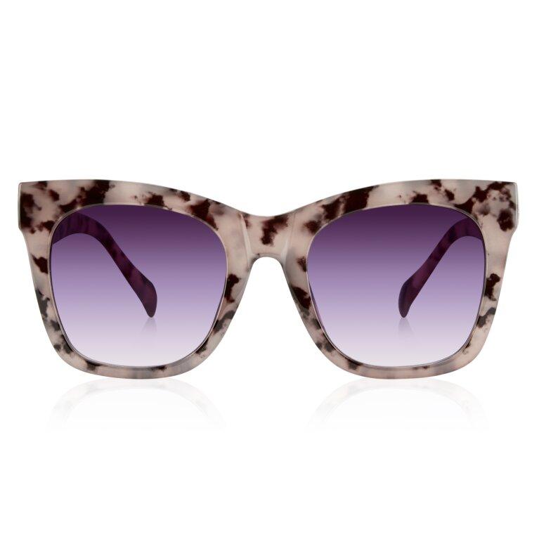 Mykonos Sunglasses Gradient Tortoiseshell in Gray
