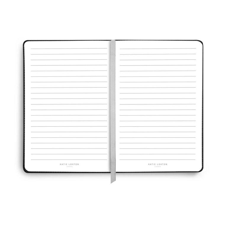 PU Notebook   Black   Live To Dream