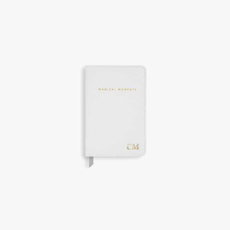 Mini Notebook Magical Moments In Pearlescent White