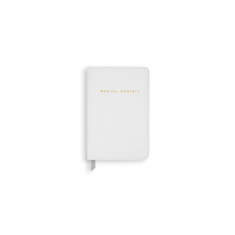 Mini Notebook | Magical Moments | Pearlescent White